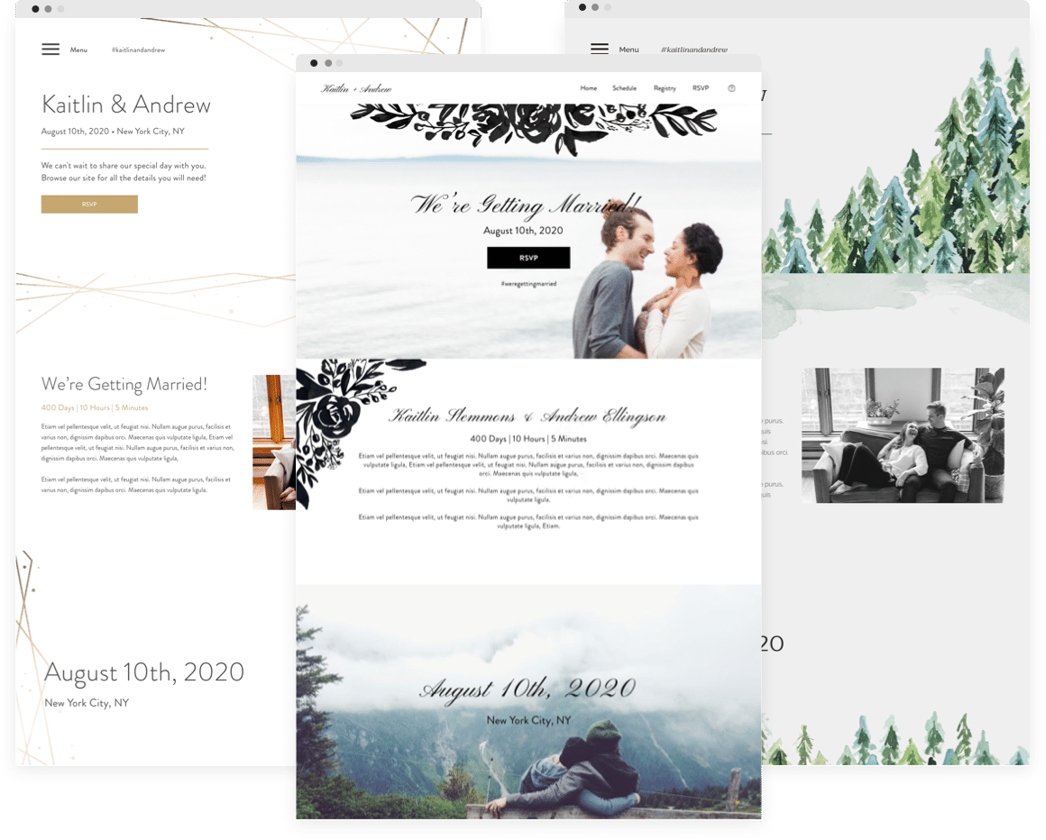 Build Your Free Wedding Website